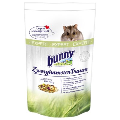 Bunny Traum Expert -kääpiöhamsterinruoka - 500 g