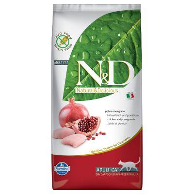 Farmina N&D Cat Grain Free Chicken & Pomegranate - 5 kg