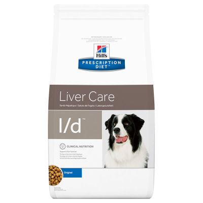 Hills Prescription Diet ld Liver Care Original Výhodné balení 2 x 12 kg
