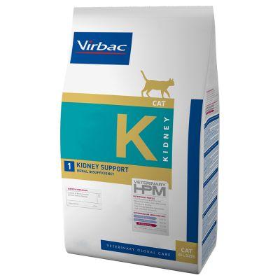 Virbac Kidney Support K1 Veterinary HPM para gatos - 3 kg