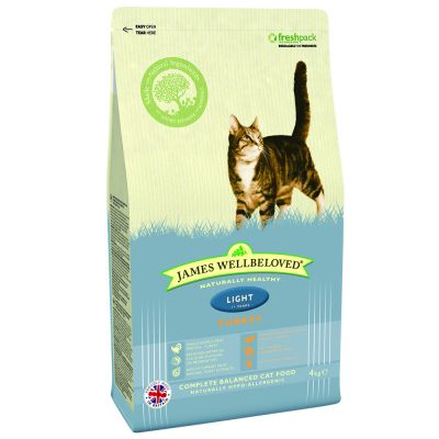 James Wellbeloved Cat Light Turkey and Rice - 4 kg