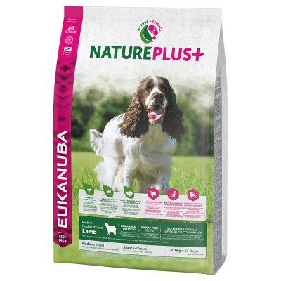 Eukanuba NaturePlus+ Adult Medium Dog Lamb - 2 x 14 kg