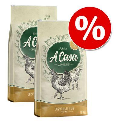 Lukullus A Casa 2 x 10 kg - Pack ahorro - Pack mixto: pavo con romero y pollo con hierbas
