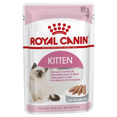 Royal Canin Kitten Mousse - 12 x 85g