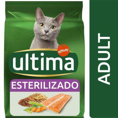 Ultima Esterilizado Adult con salmón para gatos - 10 kg