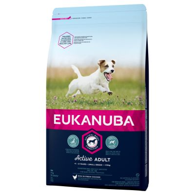 Eukanuba Adult Small Breed Chicken - 3 kg