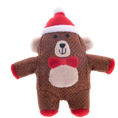 Hundespielzeug Weihnachtsbär