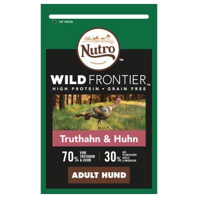 Nutro Wild Frontier Adult kalkkuna ja kana - 1,5 kg