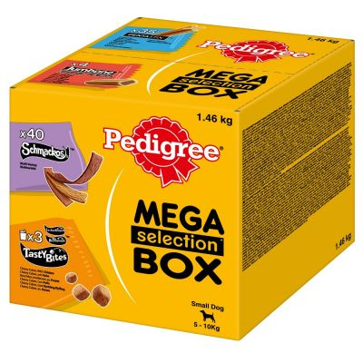 Pedigree Snacks Mega Box - pienille koirille (5-10 kg)
