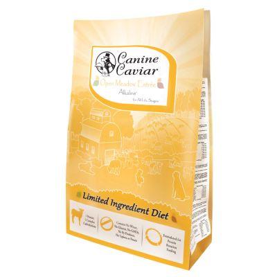 Canine Caviar Open Meadow Entrée Alkaline® Lamb - 2 x 11 kg