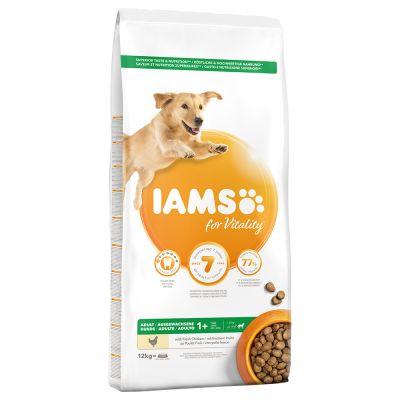IAMS for Vitality Adult Large con pollo fresco - 12 kg