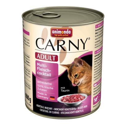 Animonda Carny Adult Kattenvoer 6 x 800 g Multi Vleescocktail