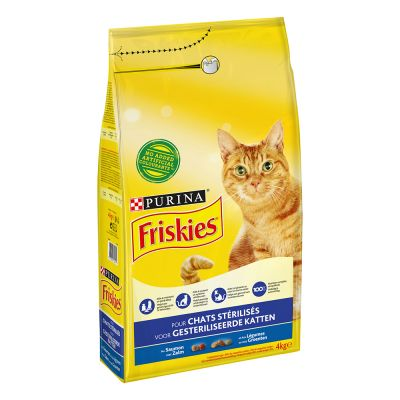 Purina Friskies Sterilized Salmon and Vegetables - 4 kg