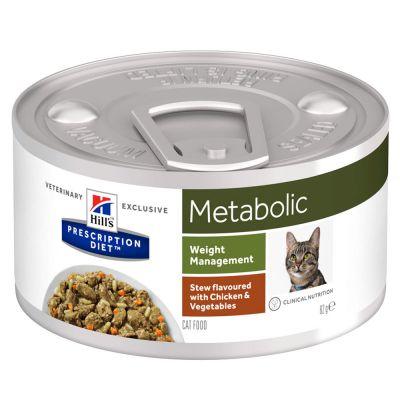 Hill´s Prescription Diet Metabolic Ragout - kana - 12 x 82 g