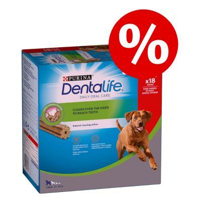 Purina Dentalife -hammashoitoherkut erikoishintaan! - pienille koirille, 30 tikkua (10 x 49 g)