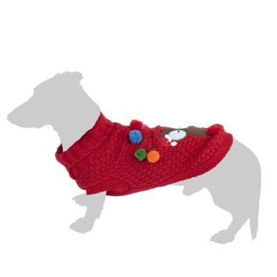 Rudi koiran villapaita - S: selän pituus n. 25 cm