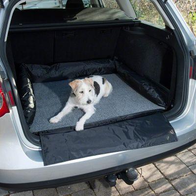 Hundsäng med skydd för bilens stötfångare – L 95 x B 75 cm