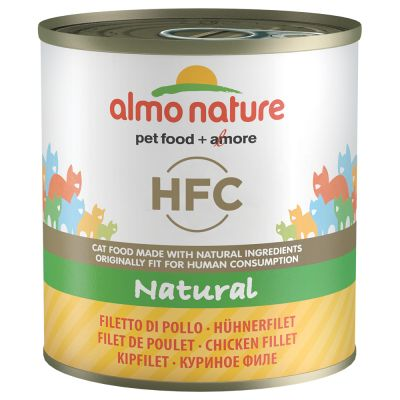 Almo Nature HFC 6 x 280 g - kanafile