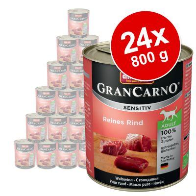 Animonda GranCarno Sensitive -säästöpakkaus 24 x 800 g - kana