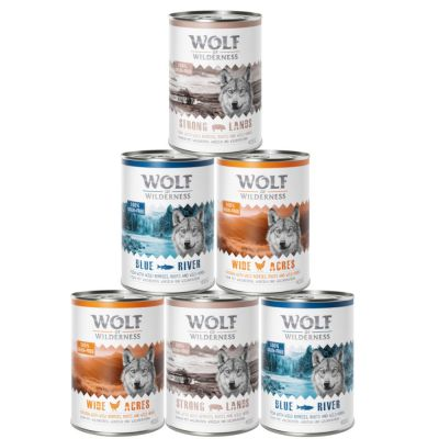 Mix-Paket Wolf of Wilderness Adult - Classic
