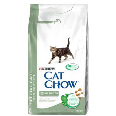 Cat Chow Adult Special Care Sterilised – 15 kg