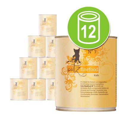 Catz Finefood -säästöpakkaus: 12 x 800 g - lammas & kani