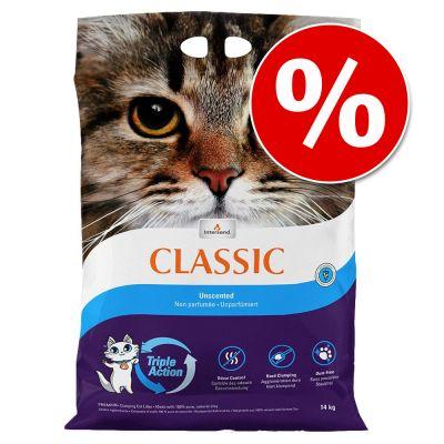 14 kg Intersand Classic -kissanhiekkaa erikoishintaan! - hajustamaton