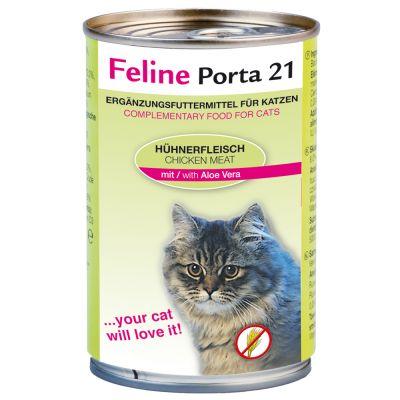 Feline Porta 21 6 x 400 g – Tonfisk med aloe