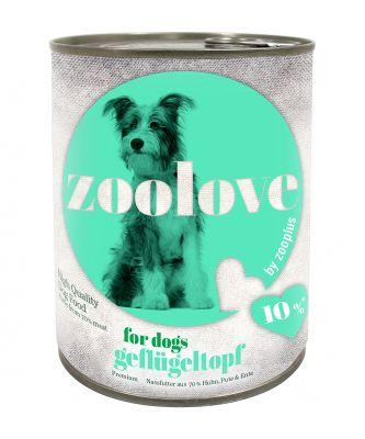 Zoolove drůbeží konzerva 6 x 800 g