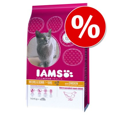 IAMS Kitten/Senior kissanruoka erikoishintaan! - Pro Active Health Kitten & Junior (10 kg)