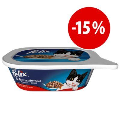 Felix Bocaditos en salsa 12 x 200 g en tarrinas  ¡a precio especial! - Pollo