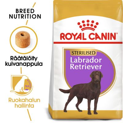 Royal Canin Breed Sterilised Labrador Retriever Adult - 12 kg