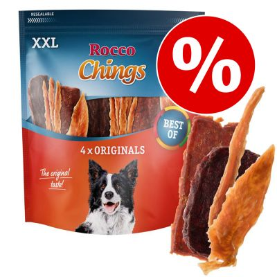 Rocco Chings XXL - Pack Ahorro  - Tiras de pechuga de pollo 2 x 900 g