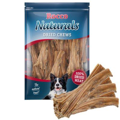 Rocco Naturals snacks de buey para perros - 3 x 500 g - Pack Ahorro