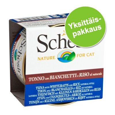 Schesir Natural with Rice 1 x 85g - kana, tonnikala & riisi