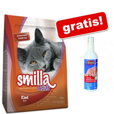 10 kg Smilla torrfoder + Trixie Catnip-lekspray på köpet! – Adult Urinary