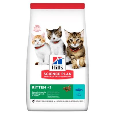 Hill's Science Plan Kitten Healthy Development Tuna Dry Cat Food