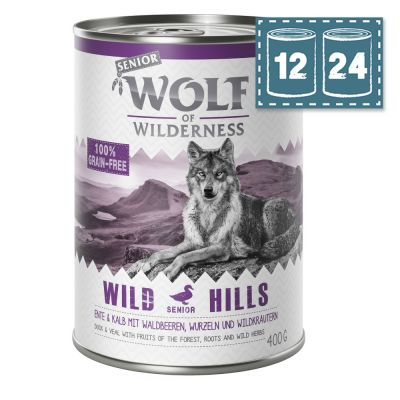 "Sparpaket Wolf of Wilderness Senior - ""Wild Hills"" - Ente"