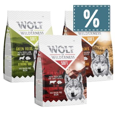 "Wolf of Wilderness Adult ""Soft & Strong"" - Mixpaket"