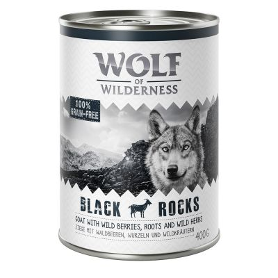"Wolf of Wilderness Adult ""Black Rocks"" - Ziege"