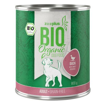 zooplus Bio kachní s batáty a cuketou (bez obilovin) 6 x 400 g