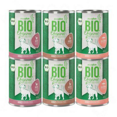 zooplus Bio bez obilovin míchané balení 6 x 800 g