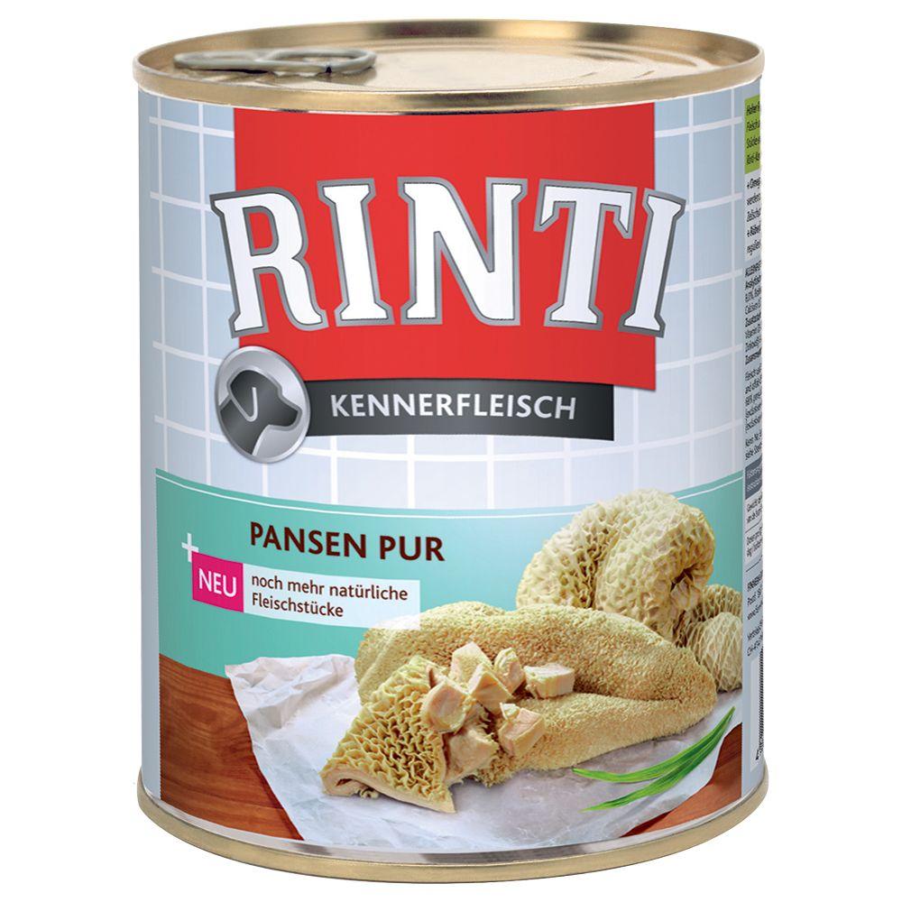 12 x 800 g Rinti Kennerfleisch Pansen pur