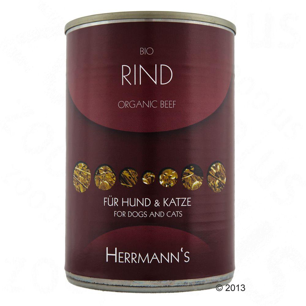 Herrmann's Organic Meat 6 x 400g - Organic Beef