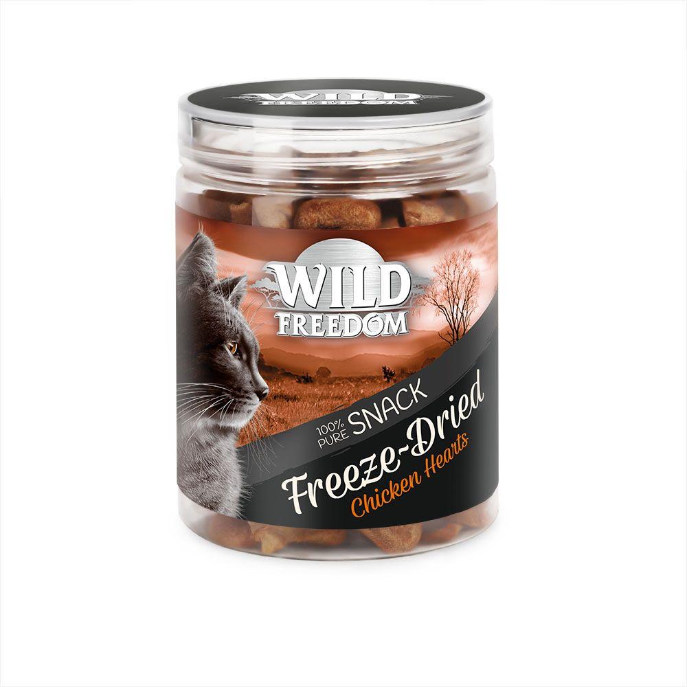 Wild Freedom Freeze-Dried Snacks Chicken Heart - Ekonomipack: 3 x 45 g