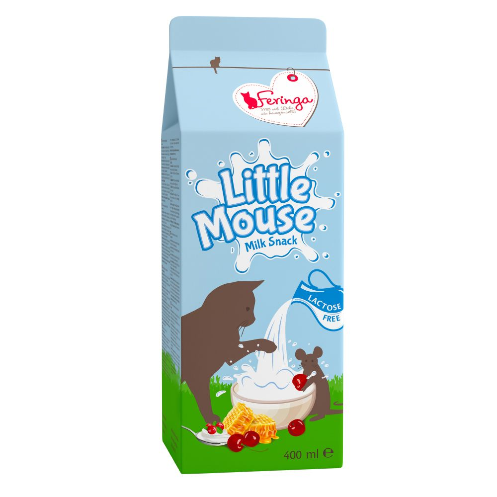 Feringa Little Mouse Milk Snack - Blandpack: 40 x 20 ml