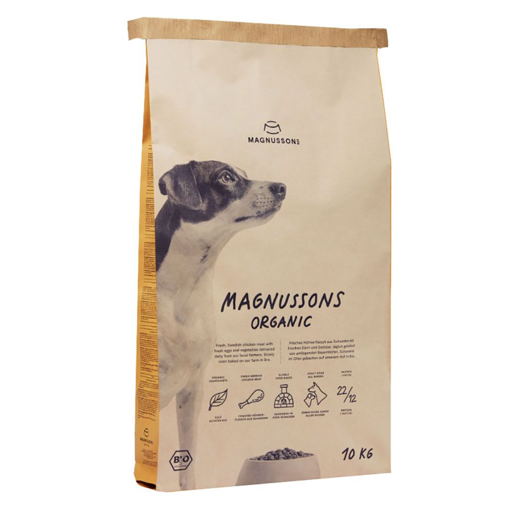 MAGNUSSONS Organic - 2 x 10 kg
