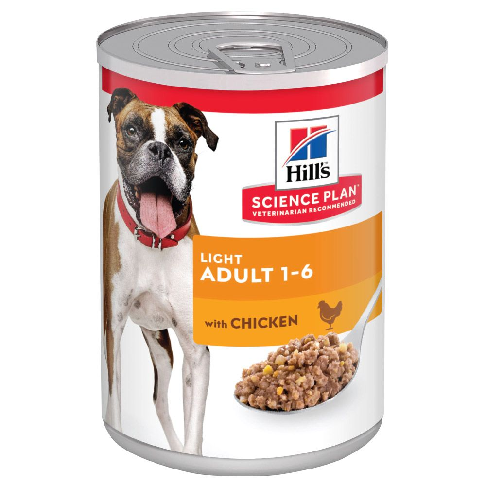 Chicken Light Adult Hill's Science Plan Wet Dog Food