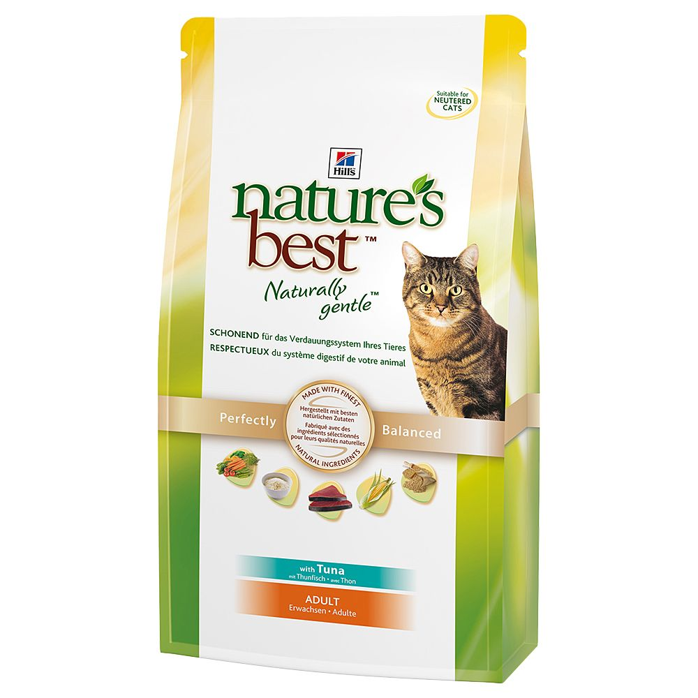 Hill's Nature's Best Feline Adult Cat - Tuna - Economy Pack: 2 x 2kg