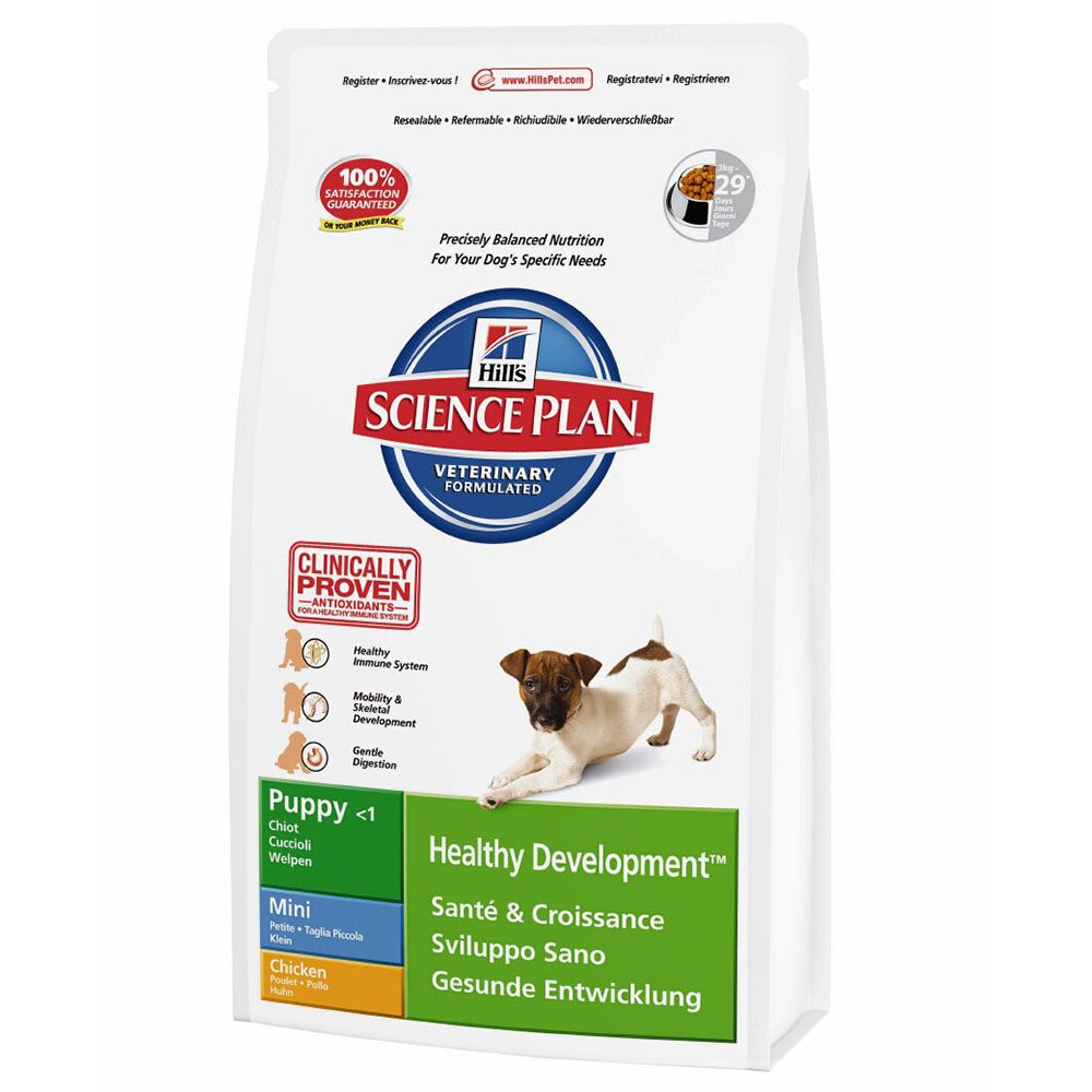 Hill's Science Plan Puppy Healthy Development Mini - Chicken - 3kg